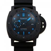 Panerai Luminor GMT Automatic подержанные 47mm Черный Дата