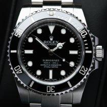 Rolex Submariner (No Date) 114060 Veldig bra Stål 40mm Automatisk