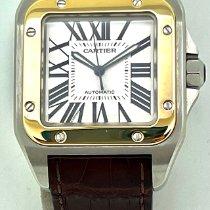 Cartier Santos 100 2656 Veldig bra Gull/Stål 38mm Automatisk