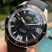 Oris Divers Sixty Five 733 7720 4034 Veldig bra Stål Automatisk