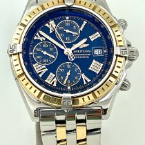 Breitling Crosswind Racing Gold/Steel 43mm Blue Roman numerals United States of America, Florida, Miami