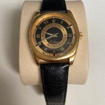 Rolex Cellini Danaos Yellow gold 38mm Black No numerals