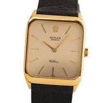 Rolex Cellini Yellow gold 31.5mm Silver No numerals
