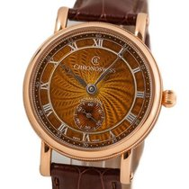 Chronoswiss Rose gold 40mm Manual winding CH-6421.1RE2-BR pre-owned