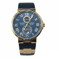 Ulysse Nardin Rose gold 43mm Automatic 266-67-3/43 pre-owned