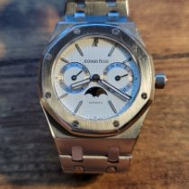 Audemars Piguet Royal Oak Day-Date Steel 36mm White No numerals United States of America, New York, new york