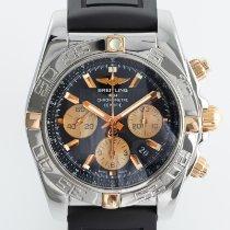 Breitling Chronomat 44 Gold/Steel 44mm Black