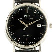 IWC Portofino Automatic Сталь 39mm Черный