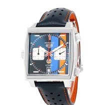 TAG Heuer Monaco Calibre 11 new 2021 Automatic Chronograph Watch with original box and original papers CAW211R.FC6401