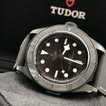 Tudor Keramik Automatik Schwarz Keine Ziffern 41mm neu Black Bay 36