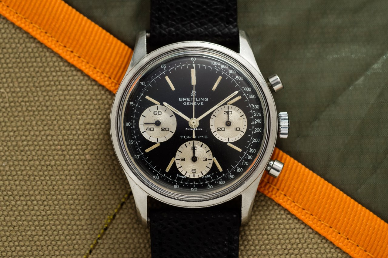 Breitling Top Time 810 1965 pre-owned