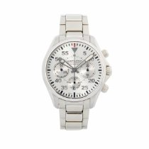 Hamilton pre-owned Automatic 42mm Silver Sapphire crystal