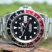 Rolex GMT-Master II Stahl 39mm Schwarz