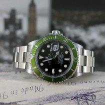 Rolex Submariner Date Steel 40mm Black No numerals United Kingdom, London
