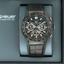 TAG Heuer Carbone Remontage automatique Transparent 45mm occasion Carrera