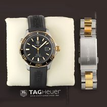 TAG Heuer Aquaracer 500M Gold/Steel 41mm Black United States of America, New York, Airmont