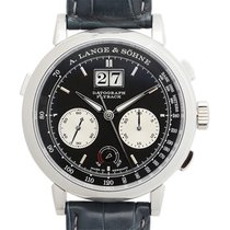 A. Lange & Söhne Datograph Platinum 41mm Black No numerals United States of America, California, Beverly Hills