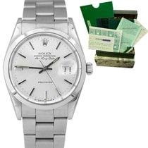 Rolex Steel Air King Date 34mm pre-owned United States of America, New York, Massapequa Park