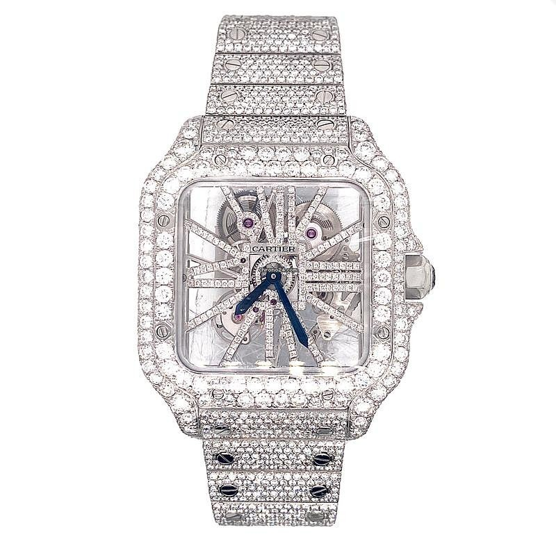Cartier Santos (submodel) WHSA0007 2020 pre-owned