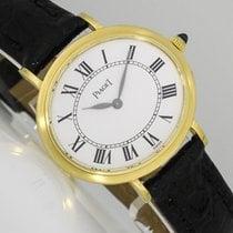 Piaget новые Механические 27mm Желтое золото Сапфировое стекло