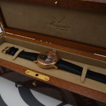 Breguet Rose gold Manual winding Gold Roman numerals 37mm pre-owned Tradition