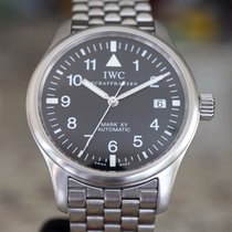 IWC Steel Automatic Black Arabic numerals 38mm pre-owned Pilot Mark