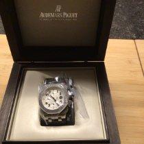 Audemars Piguet Royal Oak Offshore Chronograph Acier 42mm Blanc Belgique, Pelt