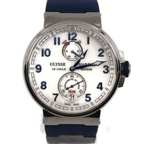 Ulysse Nardin Marine Chronometer Manufacture Steel 43mm White Roman numerals United States of America, New York, New York