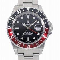 Rolex (ロレックス) GMT マスター II 新品 自動巻き 正規のボックスと正規の書類付属の時計 16710