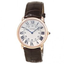 Cartier Ronde Louis Cartier Rose gold 36mm Silver United States of America, New York, New York