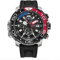 Citizen Promaster Steel 47mm Black No numerals United States of America, New York, New York