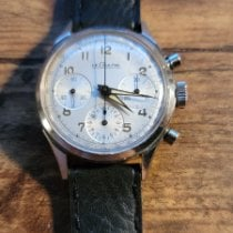 Vintage Lecoultre Chronograph Very good Steel Manual winding United States of America, New York, new york