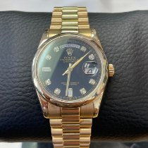 Rolex Yellow gold 36mm Automatic 118208 new
