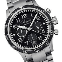 Breguet Type XX - XXI - XXII new 2021 Automatic Chronograph Watch with original box and original papers 3810ti/h2/tz9