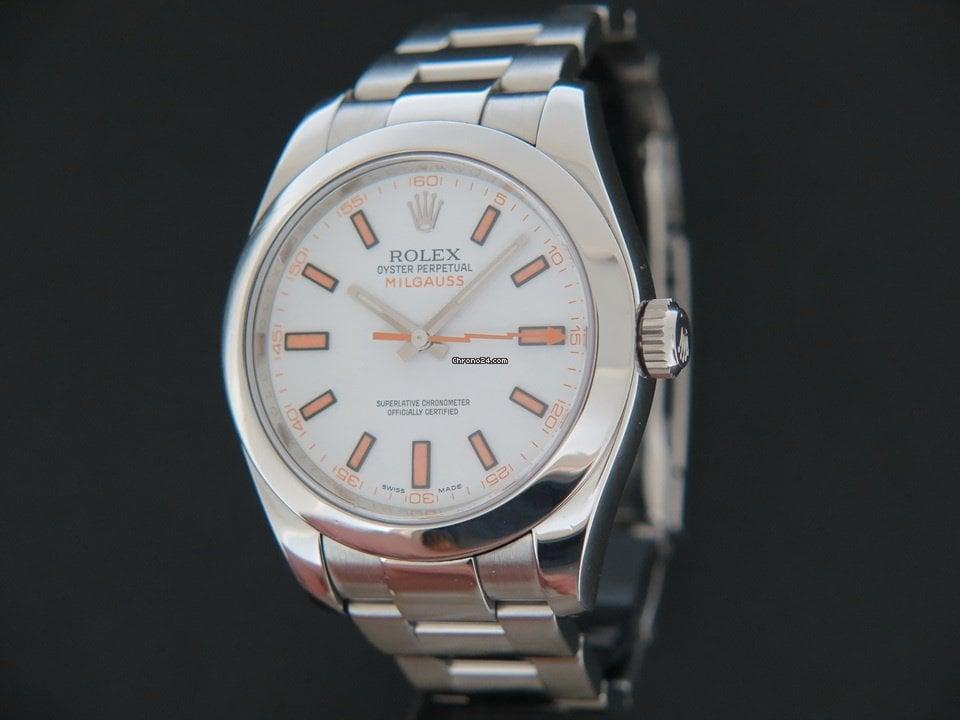 Rolex Milgauss 116400 2009 tweedehands