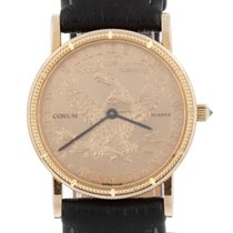 Corum Yellow gold 28mm Quartz Coin Watch pre-owned