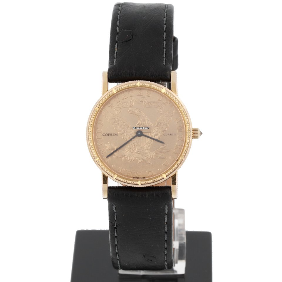 Corum Coin Watch pre-owned