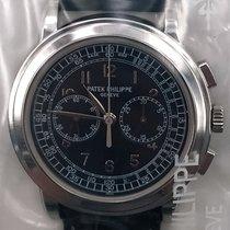 Patek Philippe Chronograph Platinum 42mm Blue Arabic numerals