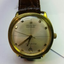 Hamilton Bronze Automatic Mother of pearl No numerals 34mm pre-owned Pan Europ