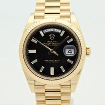 Rolex Day-Date 40 Oro giallo 40mm Nero Italia, bologna