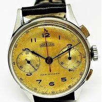 Angelus Steel 35mm Manual winding chronographe angelus 217 pre-owned