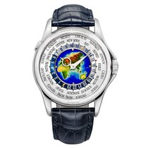 Patek Philippe 5131G-001 White gold World Time 39.5mm pre-owned