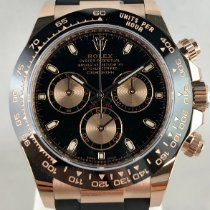 Rolex Daytona Rose gold 40mm Black