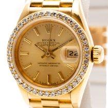 Rolex Lady-Datejust Żółte złoto 26mm Złoty
