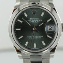Rolex Lady-Datejust Acero 31mm Verde Romanos