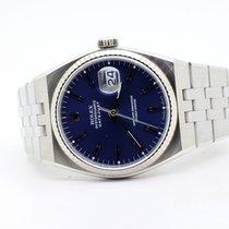 Rolex Datejust Oysterquartz Acciaio 36mm Blu Senza numeri Italia, l'aquila