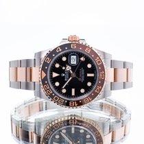Rolex GMT-Master II Acero y oro 40mm Negro