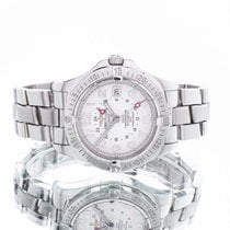 Breitling Colt GMT Steel 40mm Silver Arabic numerals