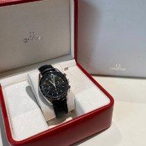 Omega Speedmaster Professional Moonwatch usato 42mm Nero Cronografo Pelle di coccodrillo