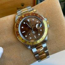 Rolex (ロレックス) GMT マスター II ゴールド/スチール 40mm ブラウン 文字盤無し